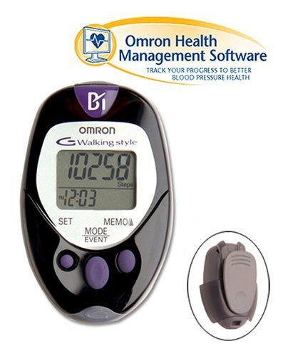 Omron HJ 720ITC Pocket Pedometer with Advanced Omron Health Management Software