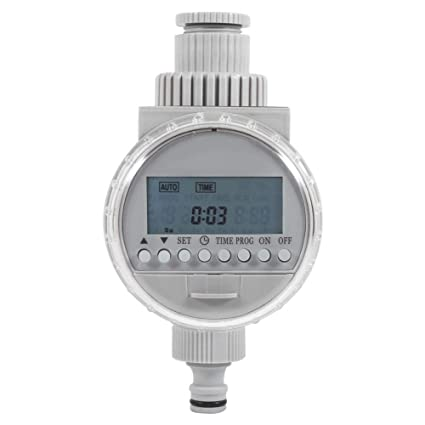 Temporizador de riego automático accionado Solar regulador Inteligente de la irrigación con la Pantalla del LCD