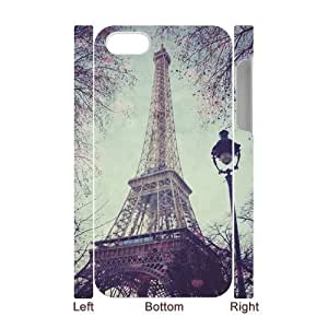 Paris Tower Print 3D-Printed ZLB531341 Customized 3D Phone Case for Iphone 4,4S