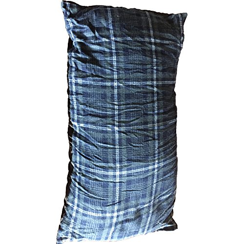 High Peak Outdoors Moose COUNTRY Gear Camping Pillow, Plaid, 9