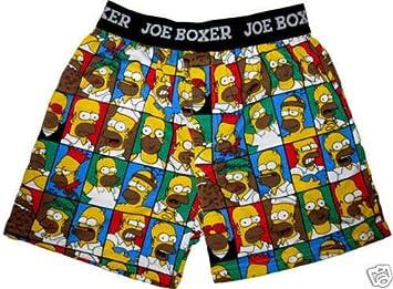 284f9adacc0385 The Simpsons Boys Boxer Shorts Briefs Pants Underwear Size Medium ...