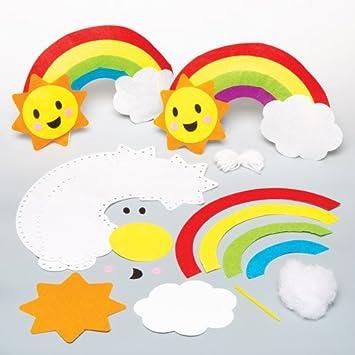 Kissen Nahsets Regenbogen Fur Kinder Zum Basteln Und Als