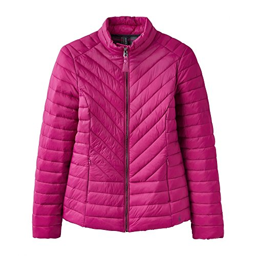 Elodie Womens Jacket Warm Ladies Casual Joules Contrast Quilted Y Coat wt841n8dCq