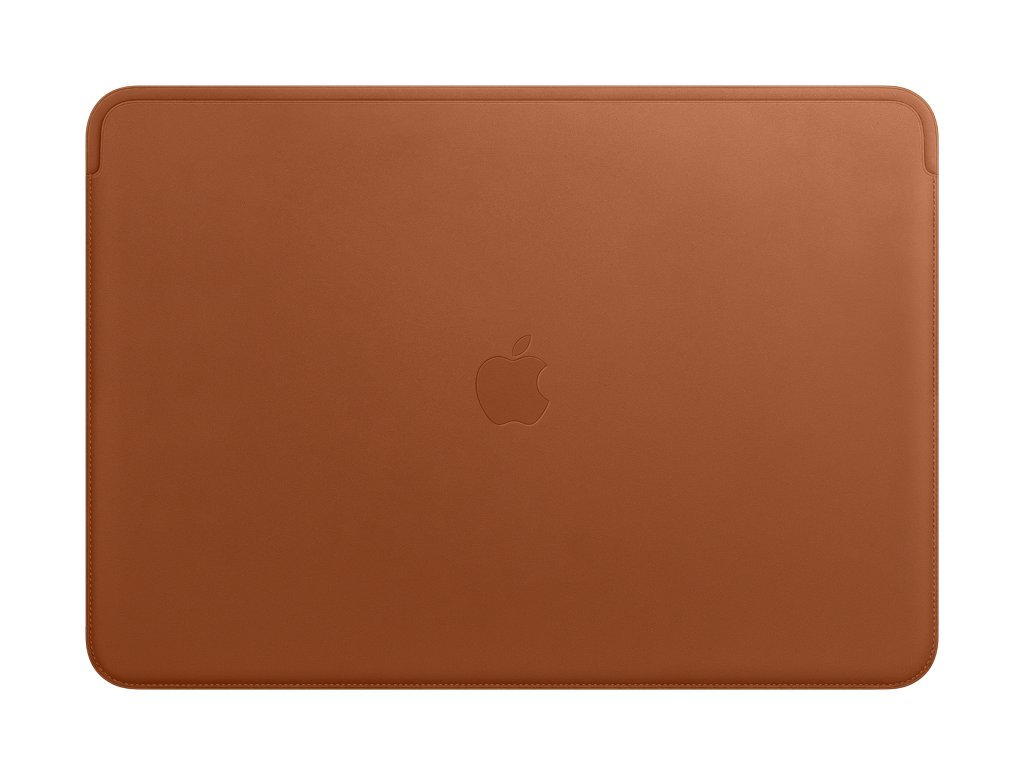 Apple Leather Sleeve (For Macbook Pro 15-Inch Laptop) - Saddle Brown