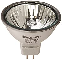 Bulbrite EXZ/SLV 50-Watt 12-Volt Halogen MR16 Bi-Pin, Silver Narrow Flood