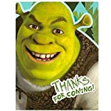Hallmark Shrek Forever After Thank-You Notes - 8 ct
