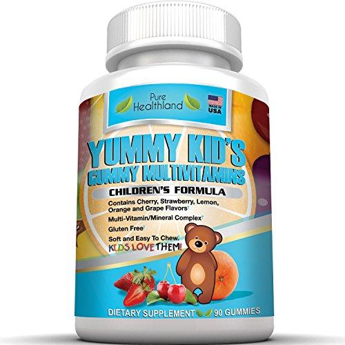 Yummy Kids Vitamins Gummy. Children Multivitamin Gummies ...