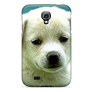 Durable Defender Case For Galaxy S4 Tpu Cover(puppy)