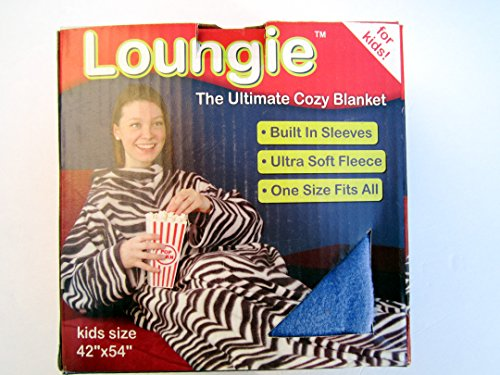Cheapest Prices! Loungie the Ultimate Cozy Blanket (Snuggie) Blue