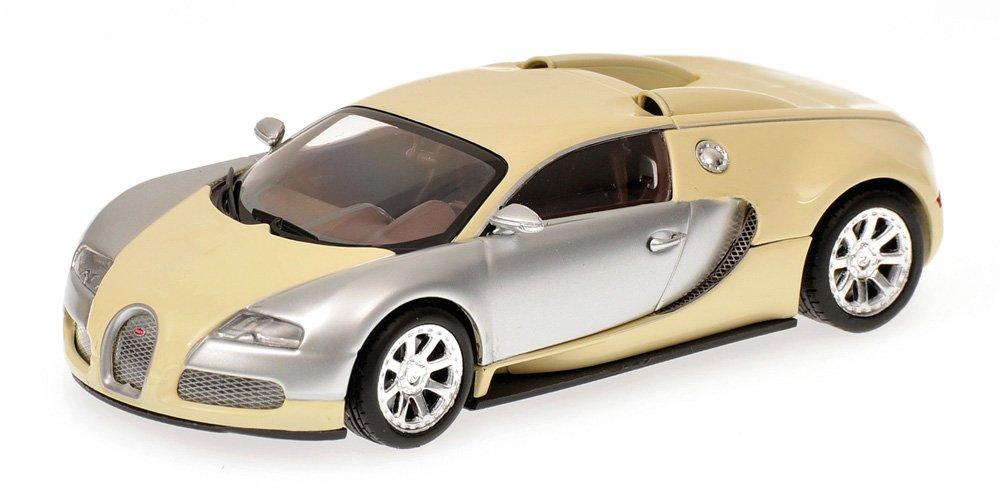 mejor calidad mejor precio Minichamps 400110854 – Bugatti Veyron Edition centen Aire, escala: 1: 1: 1: 43, cromo/Beige  venta al por mayor barato