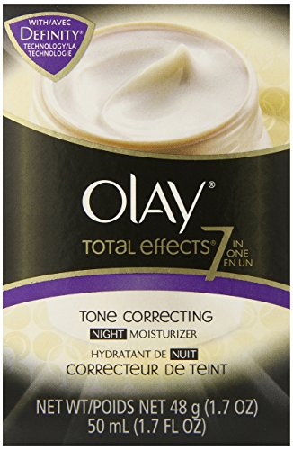Olay Total Effects 7-In-1 Tone Correcting Night Moisturizer,