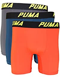 Mens 3 Pack Tech Boxer Brief · PUMA