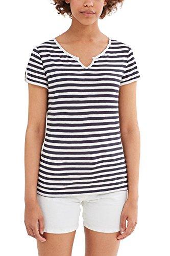 edc by Esprit, Camiseta para Mujer Multicolor (Dark Blue)