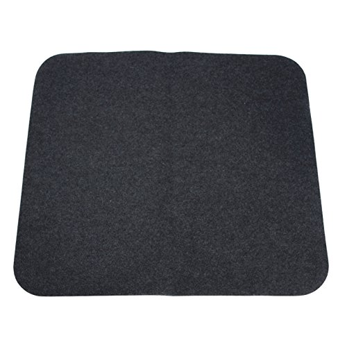 """NEW Charcoal Carpeted Universal Floor Trunk Cargo Liner Mat 37""""X34"""" OEM QUALITY"""