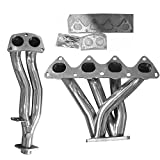 Stainless Steel Header Exhaust System Kit for 1994-2001 Acura Integra 1.8L L4