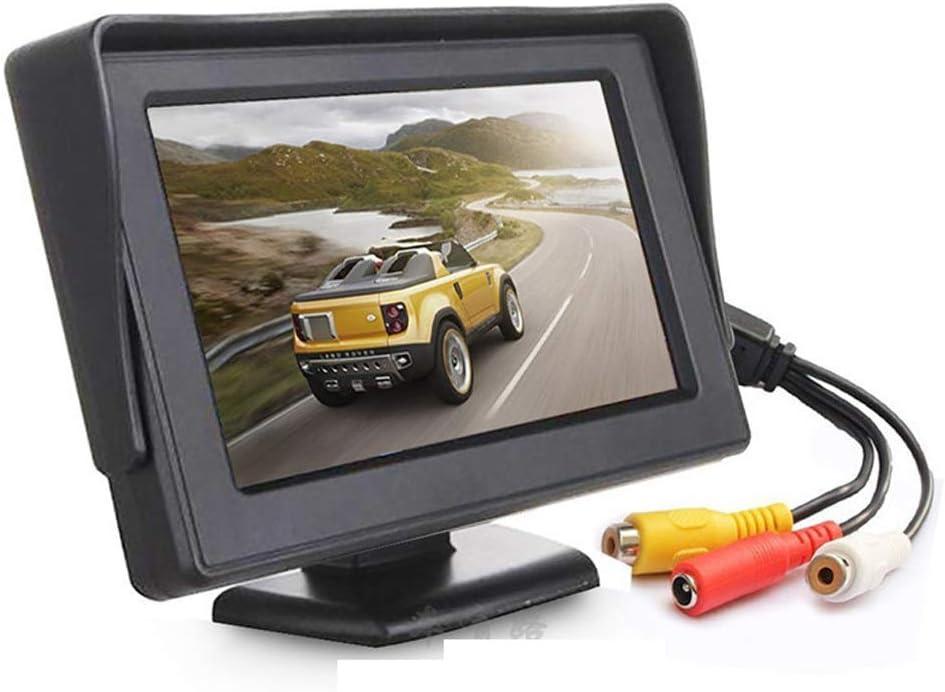 PORMIDO Backup Camera Monitor 4.3 Inch Rearview Reversing LCD Monitor