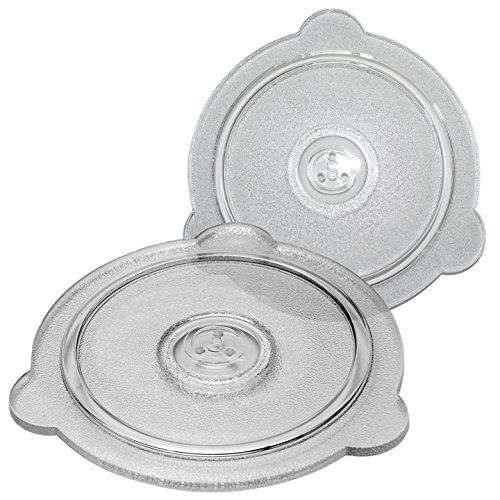 Cuchina Safe Glass Microwave Vented Lids, Set of 2- Cover Bowls, Mugs and Pots, (8