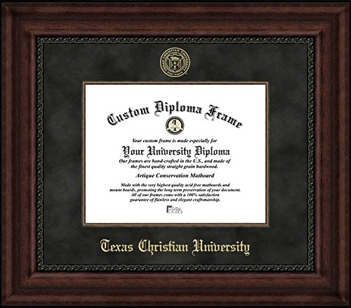 Campus Images ''Texas Christian University Executive Diploma'' Frame, 8.5'' x 11'' by Campus Images