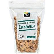 365 Everyday Value, Cashews - Roasted & Salted, 16 oz