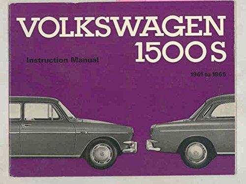 Amazon 1961 1962 1963 1964 1965 Volkswagen 1500 1500s Original