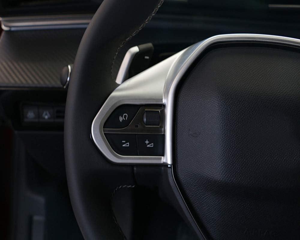1 unidad Cubierta decorativa para volante de coche 508 2019 2020