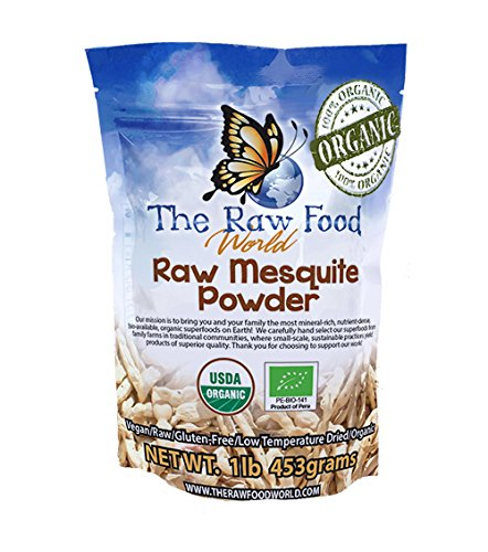 Raw Organic Mesquite Powder, ()