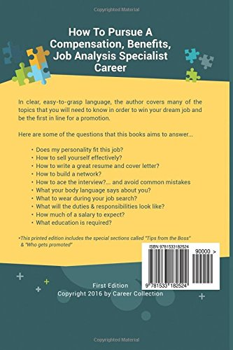 compensation benefits job analysis specialist career special edition the insiders guide to finding a job at an amazing firm acing the interview