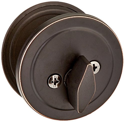 Design House 727396 Canton 6-Way Universal Entry Door Knob and Deadbolt Combo, Oil Rubbed Bronze by Design House (Image #3)