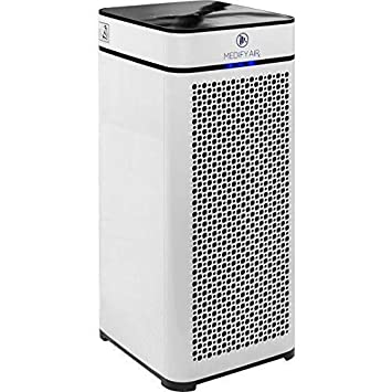 Medify MA-40 Medical Grade True HEPA H13 99.97 Air Purifier for 800 Sq. Ft. with Particle Sensor, Modern design