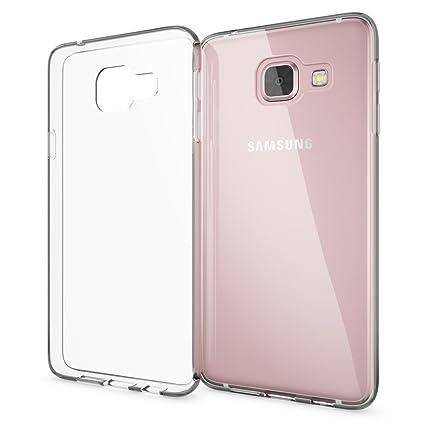 NALIA Handyhülle kompatibel mit Samsung Galaxy A3 2016, Slim Silikon Motiv Case Cover Hülle Crystal Schutzhülle Dünn Durchsic