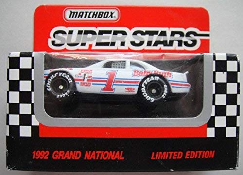 MATCHBOX SUPER STARS 1992 GRAND NATIONAL JEFF GORDON BABY RUTH T-BIRD LIMITED EDITION