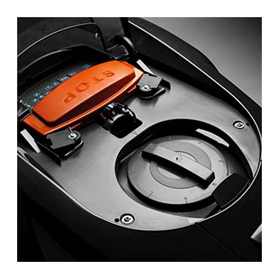 Husqvarna automower 310, robotic lawn mower 10 smart home meets smart lawn - manage your lawn with the touch of a button and maintain a yard your neighbor's will envy; the connect@home app allows you to set and adjust your automower's cutting schedule with ease (bluetooth connectivity works up to 100 ft) guided by hidden boundary wires, automower knows how to smartly maneuver around your yard and when to return to the charging station for a battery recharge quiet enough to run at night, you'll never have to worry about disturbing your neighbors again with noise or fumes