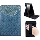 Capa Kindle Paperwhite WB® Freedom Auto Hibernação - Mandala Azul