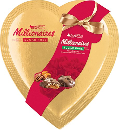 Sugar free millionaires chocolates in a valentine heart candy sugar free millionaires chocolates in a valentine heart candy chocolate assortments mom says its cool unique gift ideas more negle Images