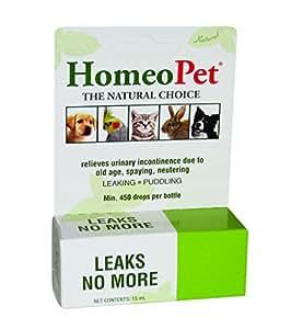 Homeopet Leaks No More 15ml Amazon Com Au Pet Supplies