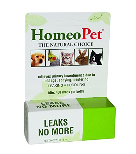HomeoPet Leaks No More, 15ml