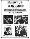 History of U. S. Table Tennis Volume 14, Tim Boggan, 1496000269