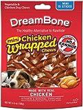 Cheap DreamBone Dog Chews Chicken Wrapped Sticks, Mini 15ct