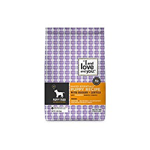 I and love and you, Naked Essentials Grain-Free Puppy Food, 4lb