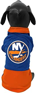 product image for All Star Dogs NHL New York Islanders Athletic Mesh Dog Jersey, Small, Royal