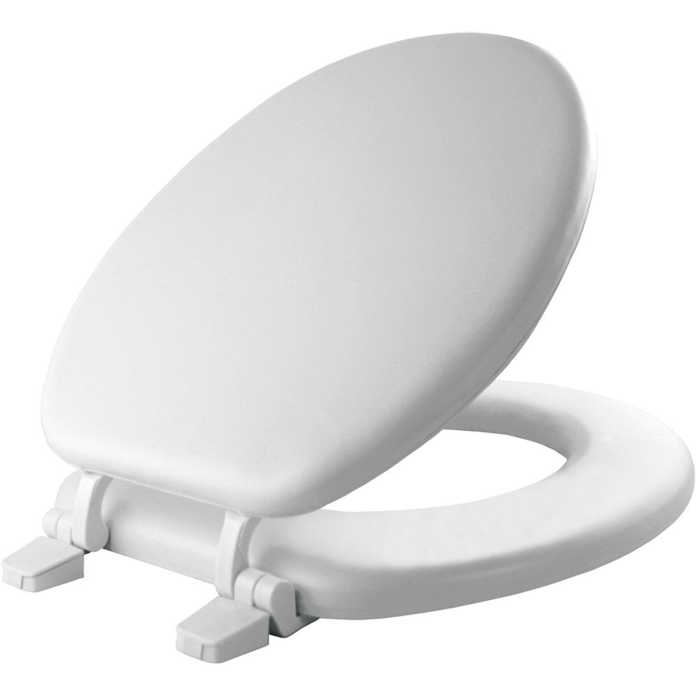 Mayfair Economy Molded Wood Round Toilet Seat, Round, 66TT 000 by Mayfair