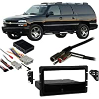 Fits Chevy Suburban 2003-2006 Single DIN Harness Radio Install Dash Kit