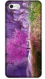 Fantastic Fay The Beautiful Japanese Cherry Blossom Scenery Classical Design For Cell Phone 5C No.4