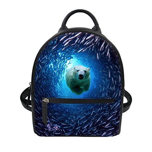 HUGS C0303Z4 dos IDEA Bleu Chiot enfants Y ours Sac à 414rq