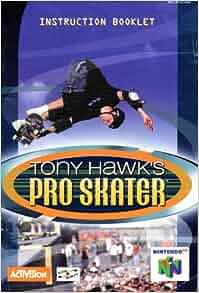 how to play tony hawk pro skater nintendo 64