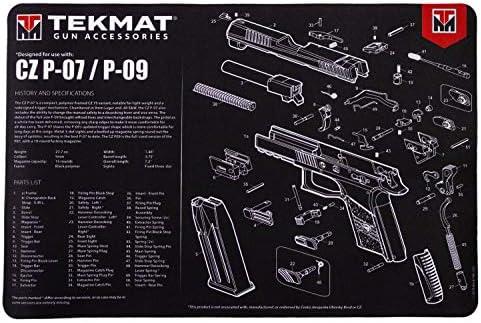 TekMat Pistolenreinigungsmatte zur Verwendung mit CZ P07
