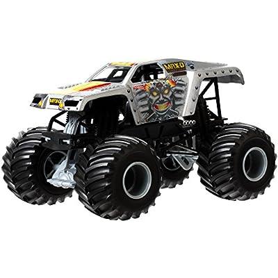 Hot Wheels Monster Jam Maximum Destruction Die-Cast Vehicle, 1:24 Scale: Toys & Games