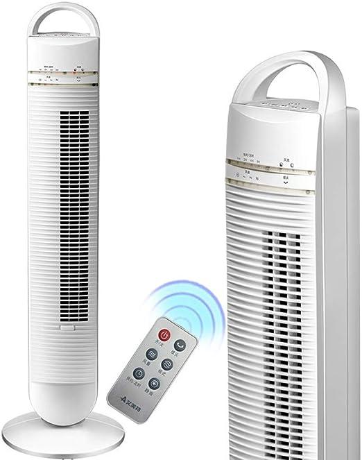 Air Cooler Ventilador De Torre - Ventilador De Torre Digital LED, Ventilador De Torre De Control Remoto/Portátil, Ventilador Sin Aspas Seguro, Temporización 8H / 40W ...