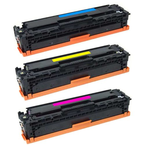 Shop At 247 ® Compatible Toner Cartridge Replacement for HP CE411A CE412A CE413A (1 Cyan, 1 Yellow, 1 Magenta, 3-Pack), Office Central