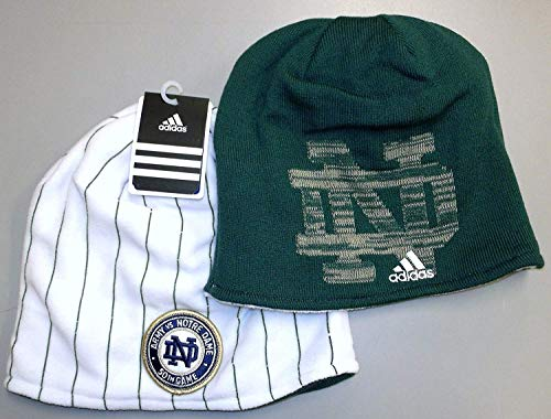 Reversible Knit Adidas - Notre Dame Fighting Irish Army Vs Notre Dame Reversible Adidas Knit HAT - KC93Z